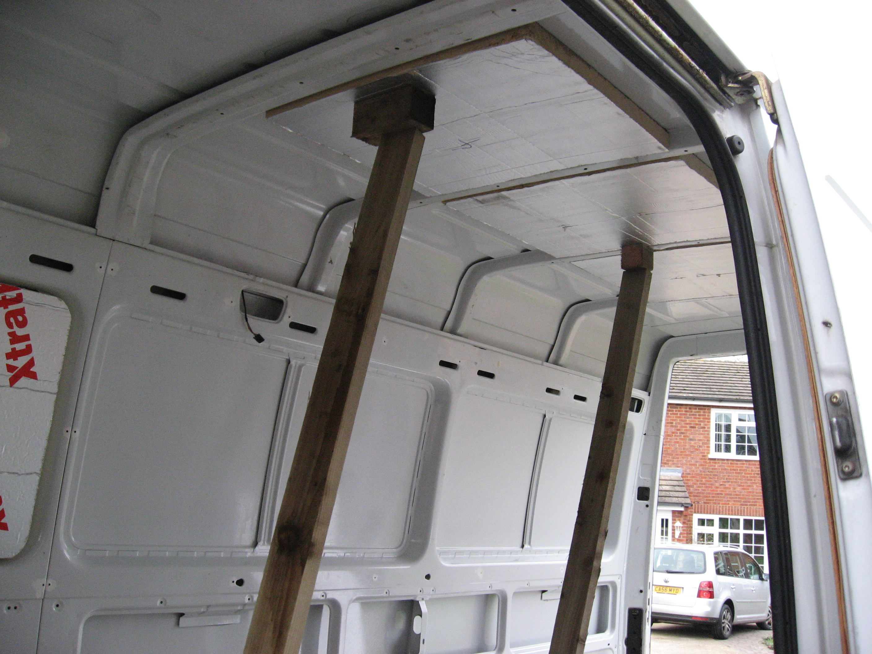 campervan roof insulation