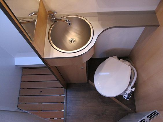 which campervan toilet